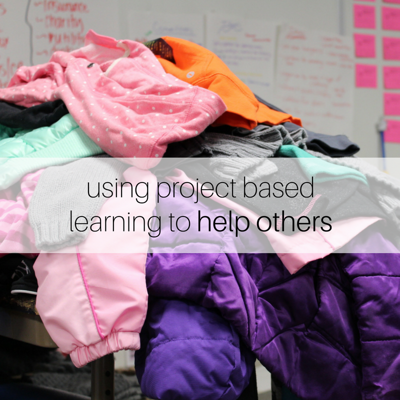 USING PROJECT BASED LEARNING TO HELP OTHERS